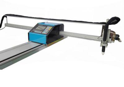Alibaba Kína szállítója CE jóváhagyott levegő plazma hordozható cnc láng / plazma vágógép