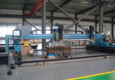 hordozható CNC daru plazma lángvágó gép / plazma vágó