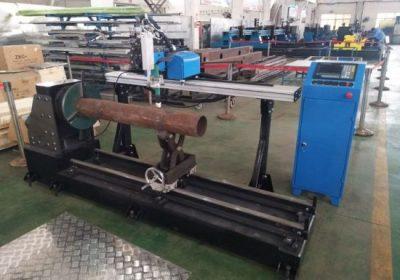 Új termék hordozható cnc plazma rozsdamentes acél cső vágógép