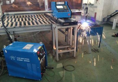 Hordozható CNC lángvágó fémmegmunkáló gép rozsdamentes, szénacélból és olcsó alkatrészekkel