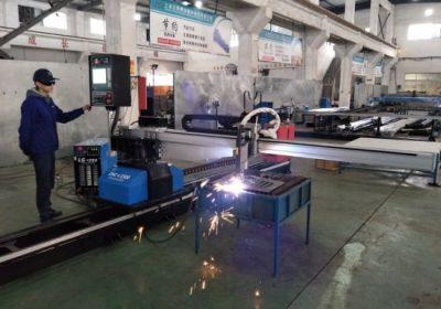 CNC hordozható plazma lángcső vágógép porcelánból gyári áron
