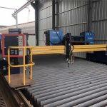 Európai minőségű cnc plazma és lángvágó gép / plazma CNC vágógép fém