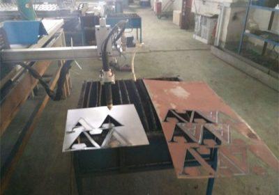 Cnc plazma vágó / négyzet alakú cső kerek acél cső cnc plazma vágógép
